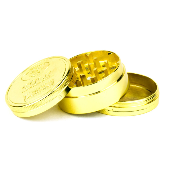 Metall Grinder - Ø 50mm - gold