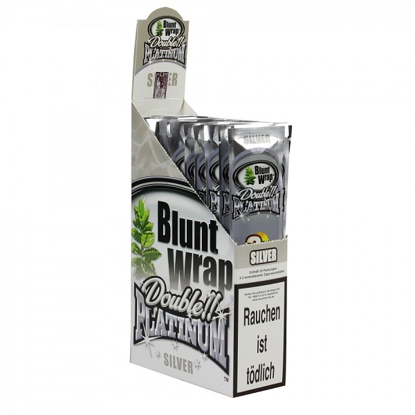 Blunt Wrap - Double!! Platinum - Silver