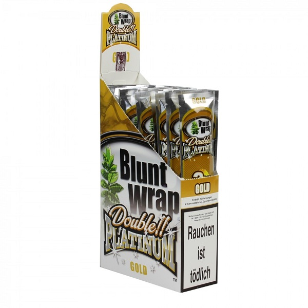 Blunt Wrap - Double!! Platinum - Gold