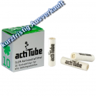 actiTube Aktivkohlefilter - 7mm Slim - 10er Pack