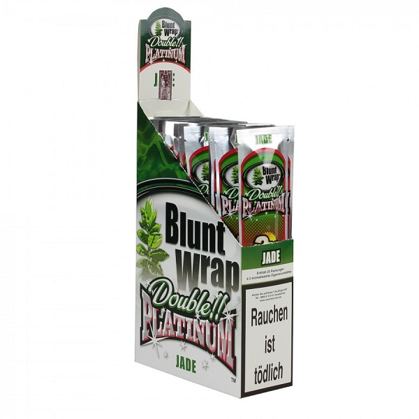 Blunt Wrap - Double!! Platinum - Jade
